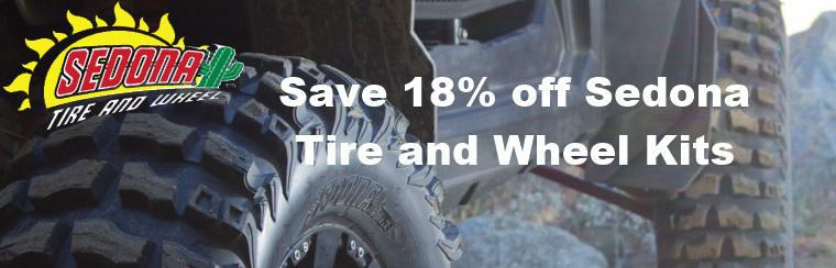 Sedona ATV Tire and Wheel Kit sale