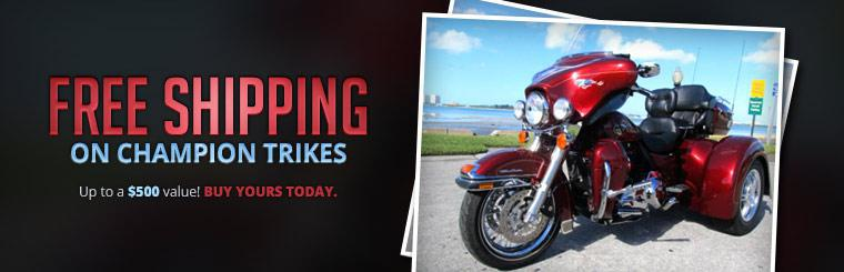 Free Shipping on Champion Trikes: Buy yours today.