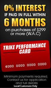 Trike Performance Card