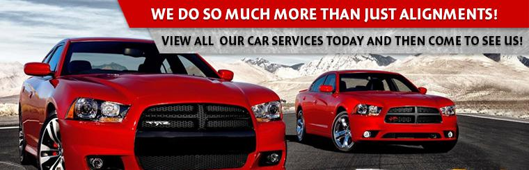 View all the auto repair services we offer!