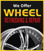 We Offer Wheel Refinishing & Wheel Repair