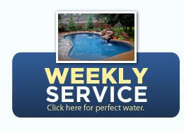 Weekly Service: Click here for perfect water.