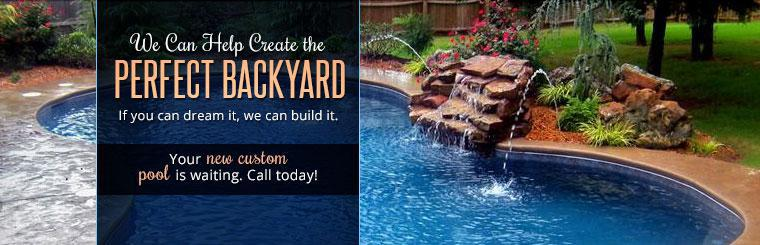 You new custom pool is waiting. Call today!