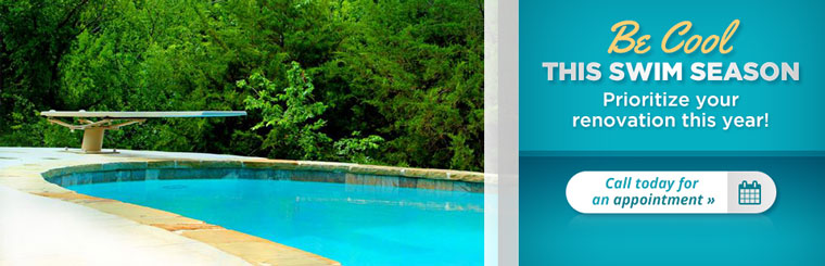 Click here to contact us for an appointment to renovate your pool!