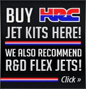 Buy HRC jet kits here! We also recommend R&D flex jets!