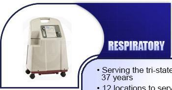 Respiratory - Serving the tri-state area for over 37 years. 12 locations to serve you 24 hours a day, 7 days a week. Treating customers like family.