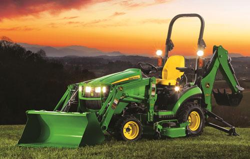 2018 john deere 1025r tlb w 54 mower deck for sale in select