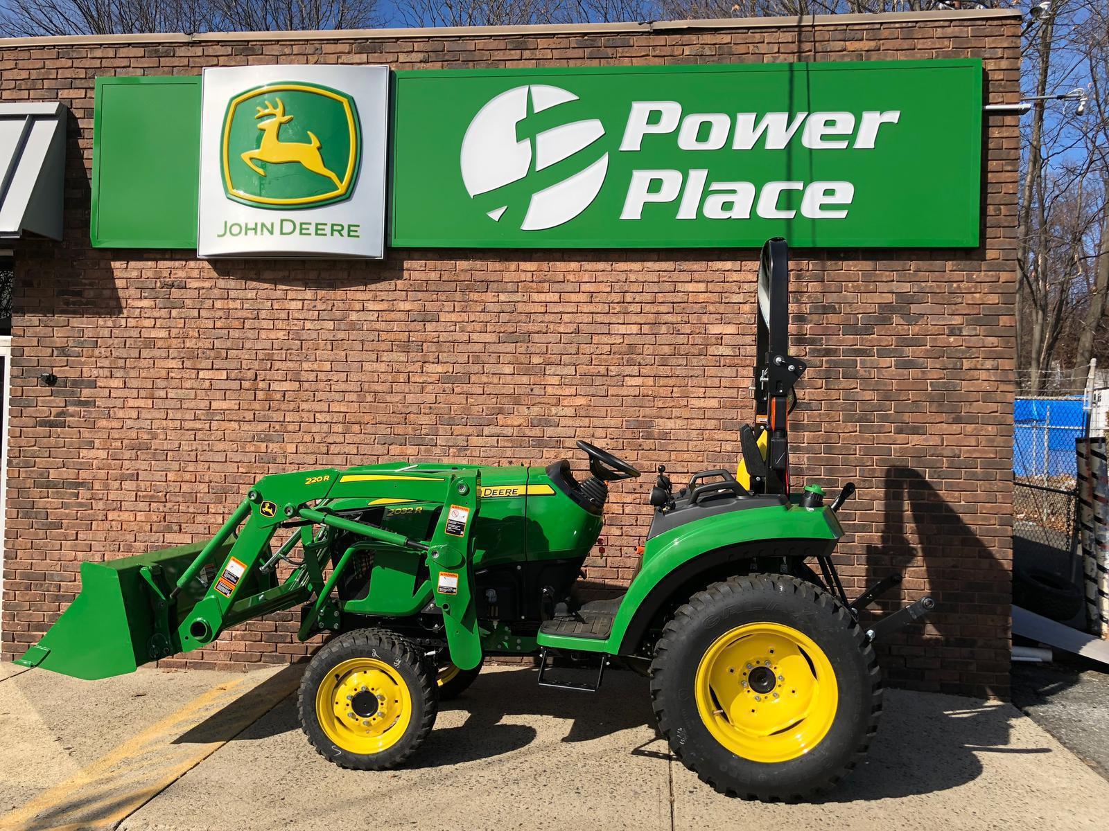 2018 John Deere 2038R Tractor w/ 220R Loader (DEMO) for sale in ...