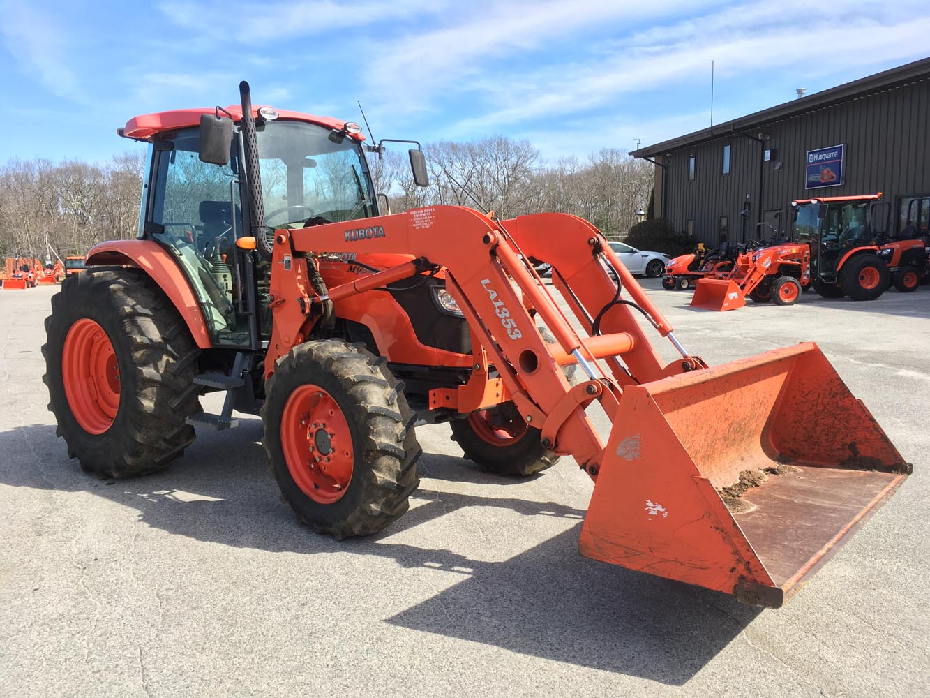 2010 Kubota M9540 Deluxe Utility Tractor for sale in Burrillville