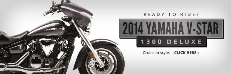 2014 Yamaha V-Star 1300 Deluxe: Click here to view the model.