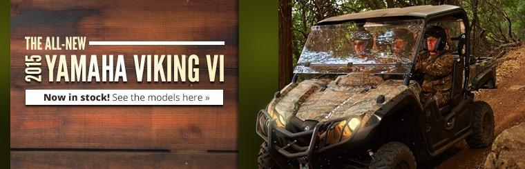 The 2015 Yamaha Viking VI is now in stock!