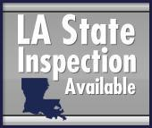 LA State Inspection Available