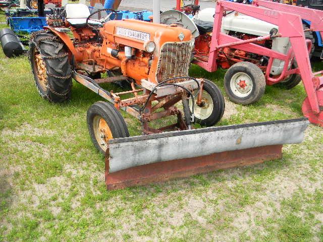 Tractors from Allis Chalmers and New Idea Sumerix Implement