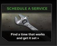 Schedule a Service: Find a time that works and get it set