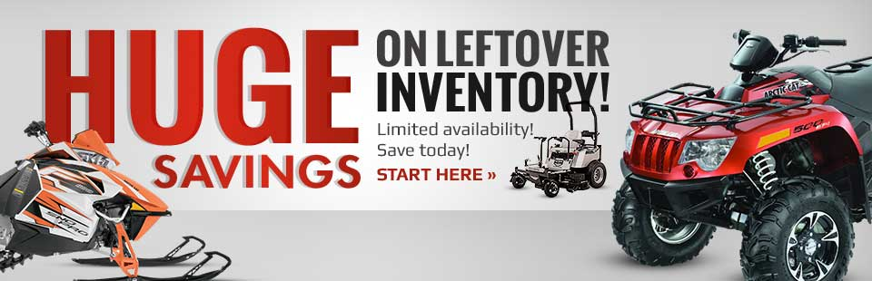 Get huge savings on leftover inventory! Click here to shop online.