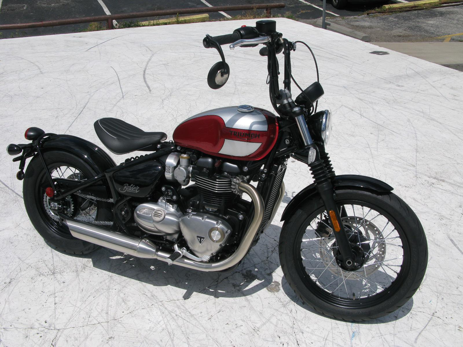 2018 triumph bobber for sale in kansas city, mo. engle motors