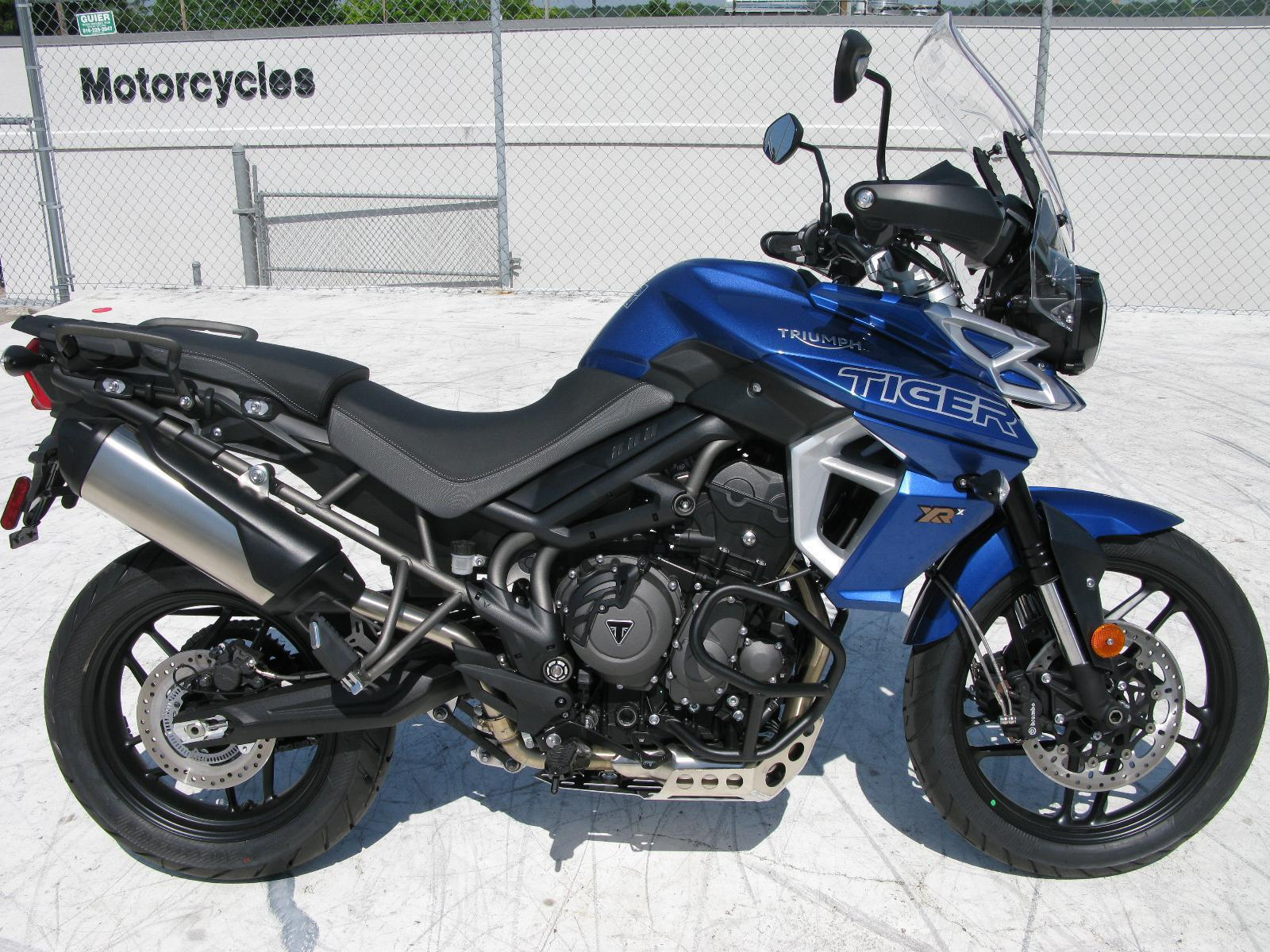 2018 Triumph Tiger 800 Xrx Free Saddlebags Till April 30 For Sale In