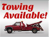 Towing Available!