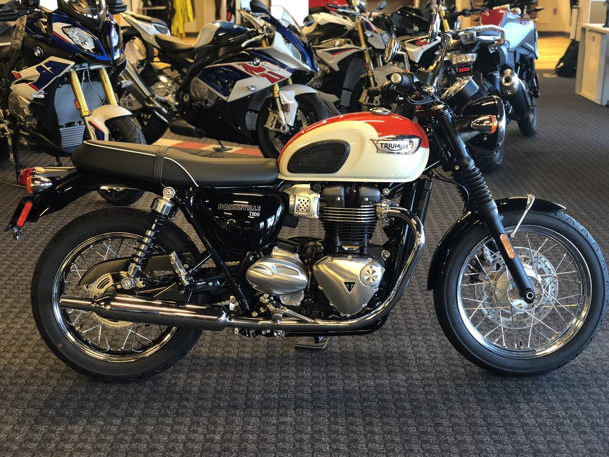 2017 Triumph Bonneville T100 For Sale In Salem Va Frontline