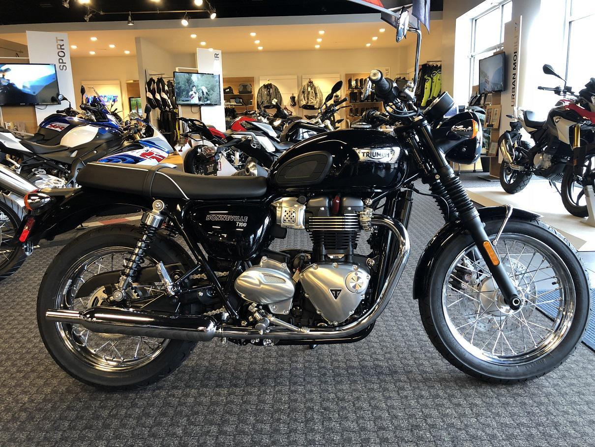 2017 Triumph Bonneville T100 In Stock