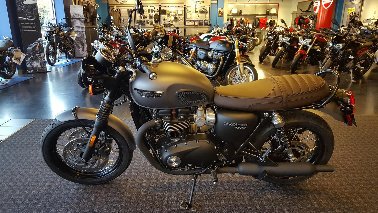 2018 Triumph Bonneville T120 For Sale In Salem Va Frontline