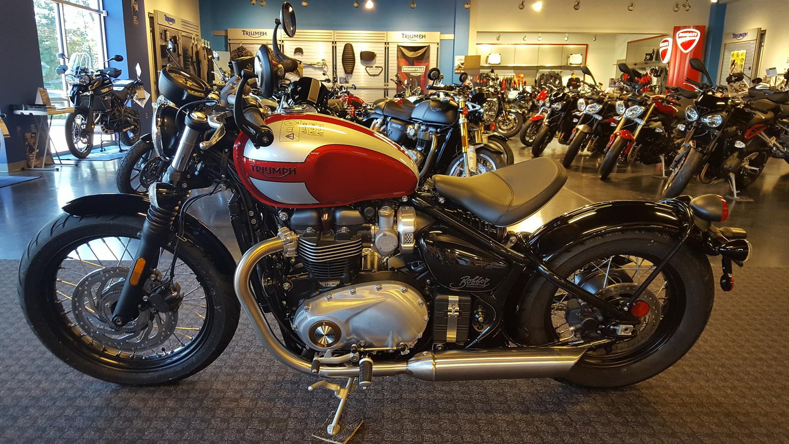 2018 Triumph Bonneville Bobber For Sale In Salem Va Frontline