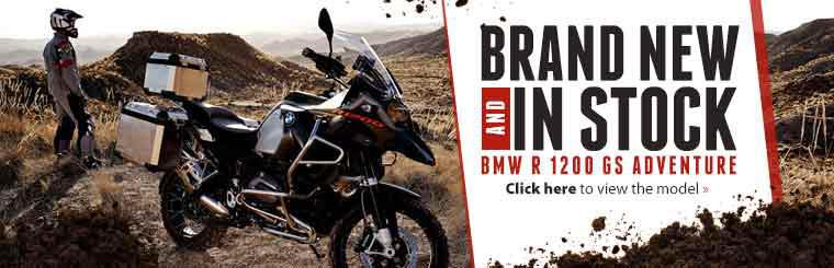 The brand new BMW R 1200 GS Adventure is now in stock! Click here to view the model.
