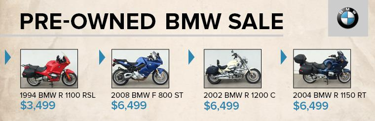 Pre-Owned BMW Motorcycle Sale