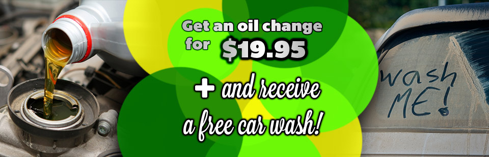 Get an oil change for $19.95 and receive a free car wash at Glen Lake BP & Wayzata BP!