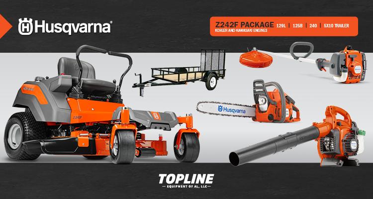 2019 Husqvarna Z242F Package