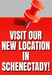 Visit our new location in Schenectady!