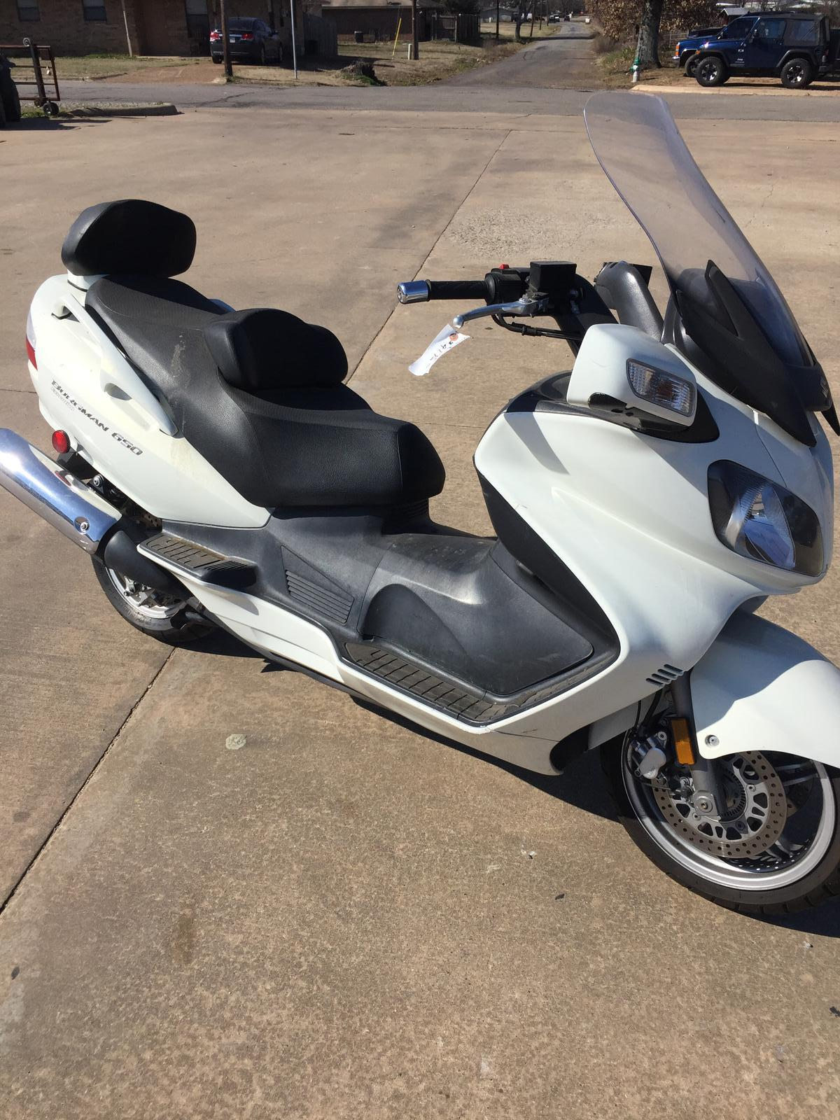 2011 Suzuki burgman 650 for sale in Paris, TX | Paris Suzuki ...
