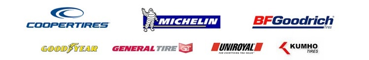 We are proud to feature products from Michelin®, BFGoodrich®, Uniroyal®, Goodyear, Kelly, Cooper, and Kumho.