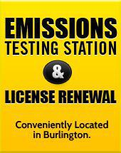 Emissions Testing Station & License Renewal