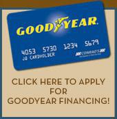 Click here to apply for Goodyear financing!