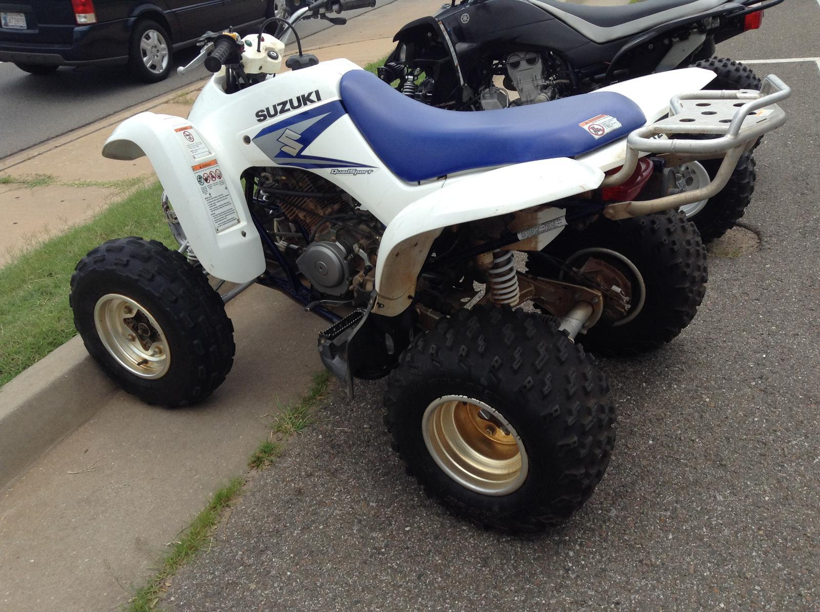 2006 Suzuki QUADSPORT® Z250 for sale in Oklahoma City, OK | Brian's ...
