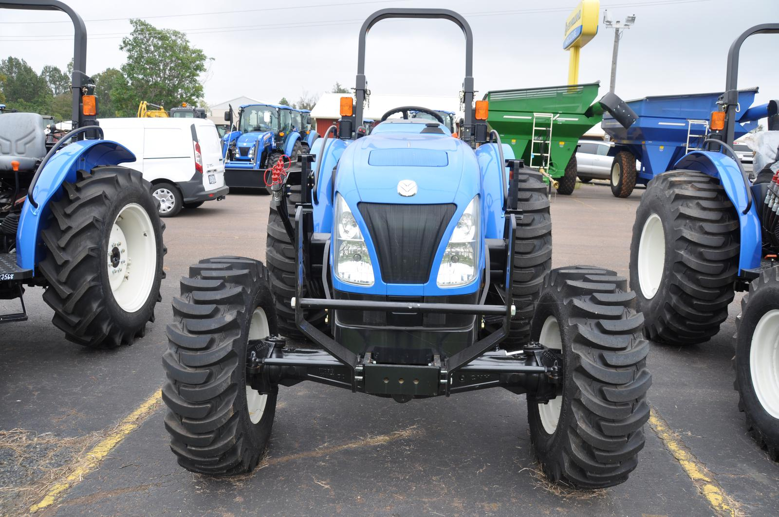 2018 New Holland Workmaster 50 Utility Tractor (2)