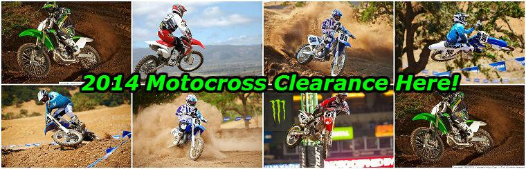 2014 Motocross Clearance Sale
