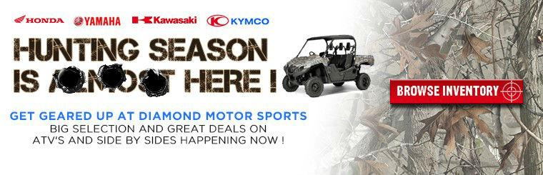 ATV's, Side by Sides & winches for hunting season