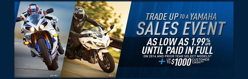 Trade Up to a Yamaha