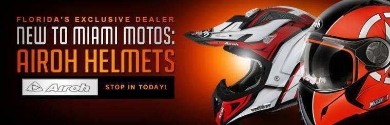 We have Airoh Helmets! Stop in today! Click here to contact us.