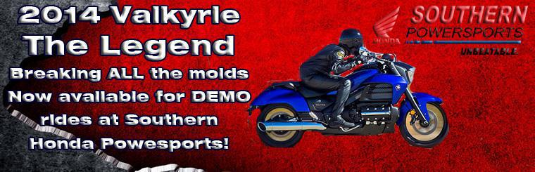2014 Valkyrie 1800CC The legend Lives at Southern Honda Powersports!!