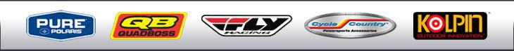 We carry products from Pure Polaris, QuadBoss, Fly Racing, Cycle Country, and Kolpin.
