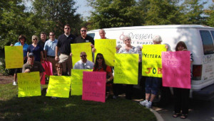 Triangle Home Medical Equipment Providers Rally for Obama Visit