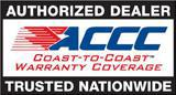 ACCC Logo - Coast to Coast Warranty Coverage.