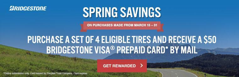Bridgestone Spring Savings