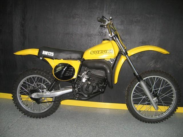 1978 Suzuki RM 125