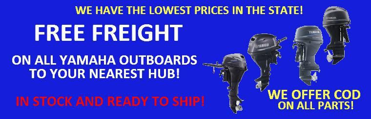 Free freight on Outboards