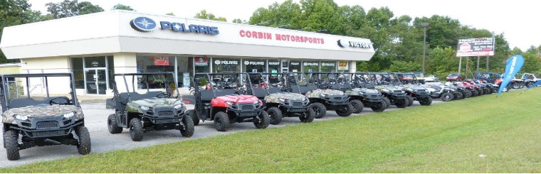 Corbin MotorSports Kentucky's Polaris Headquarters