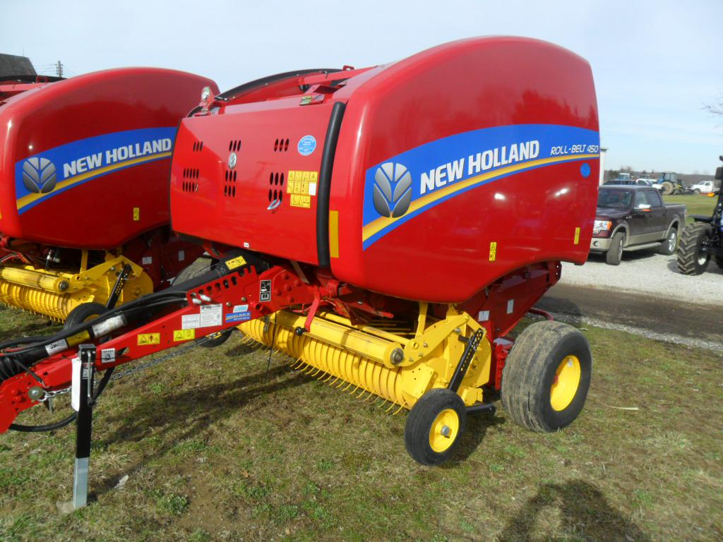 New Holland Agriculture Roll-Belt™ Round Balers Roll-Belt™ 450 for sale in  Ashland, OH | Ashland Tractor (419) 289-9479